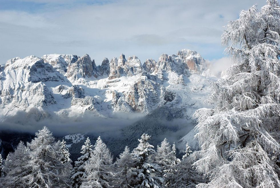 A romantic trip to Trentino mountains