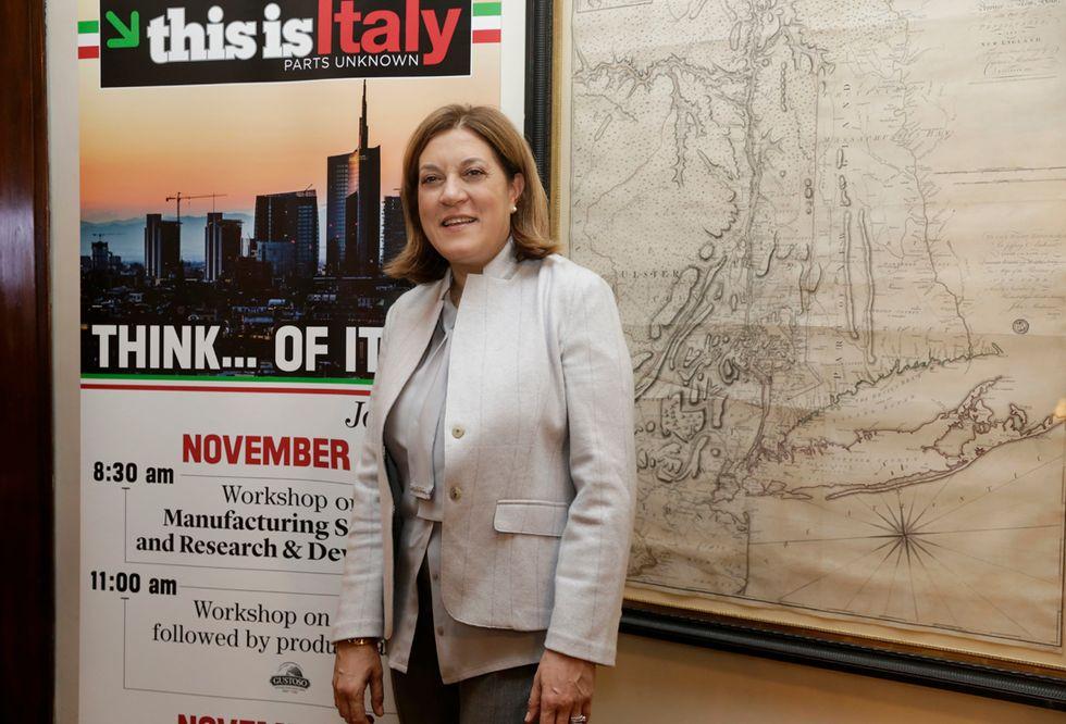 Italy of environmental sustainability showcase in New York City