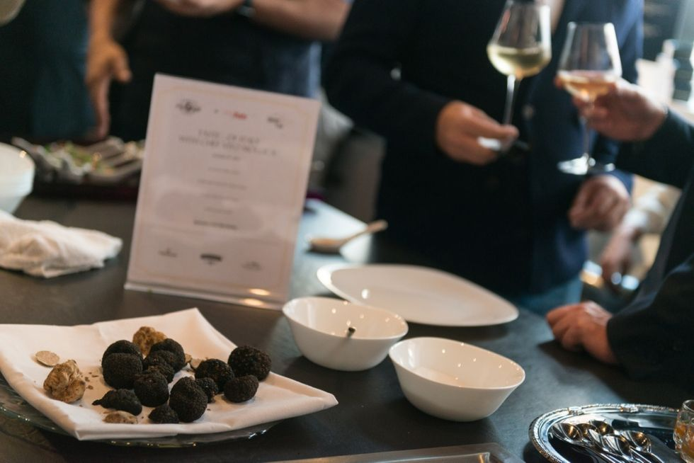 A New York brunch with truffle scent
