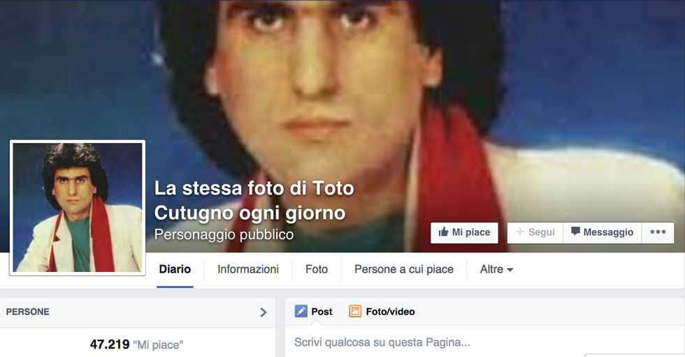 Toto Cutugno, la pagina Facebook diventa un caso USA