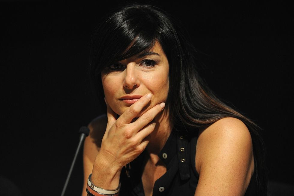 Ilaria D'Amico è incinta di Gigi Buffon