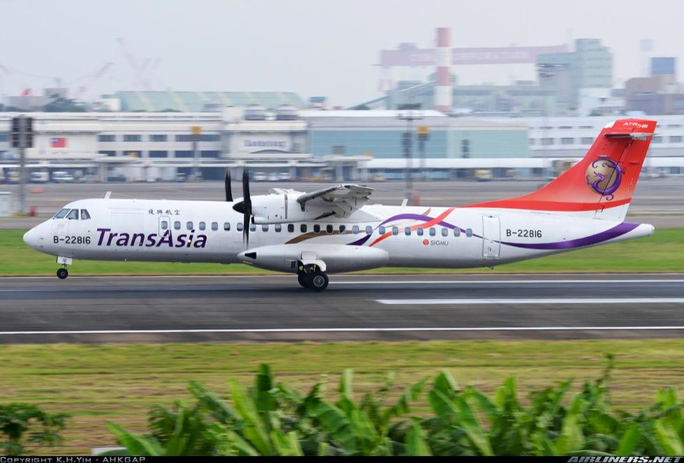 Incidente a Taiwan, identikit dell'aereo precipitato
