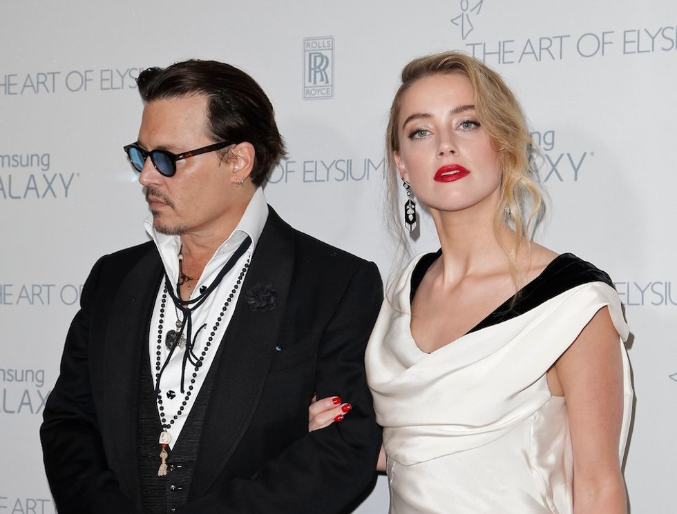 Johnny Depp e Amber Heard: matrimonio a sorpresa
