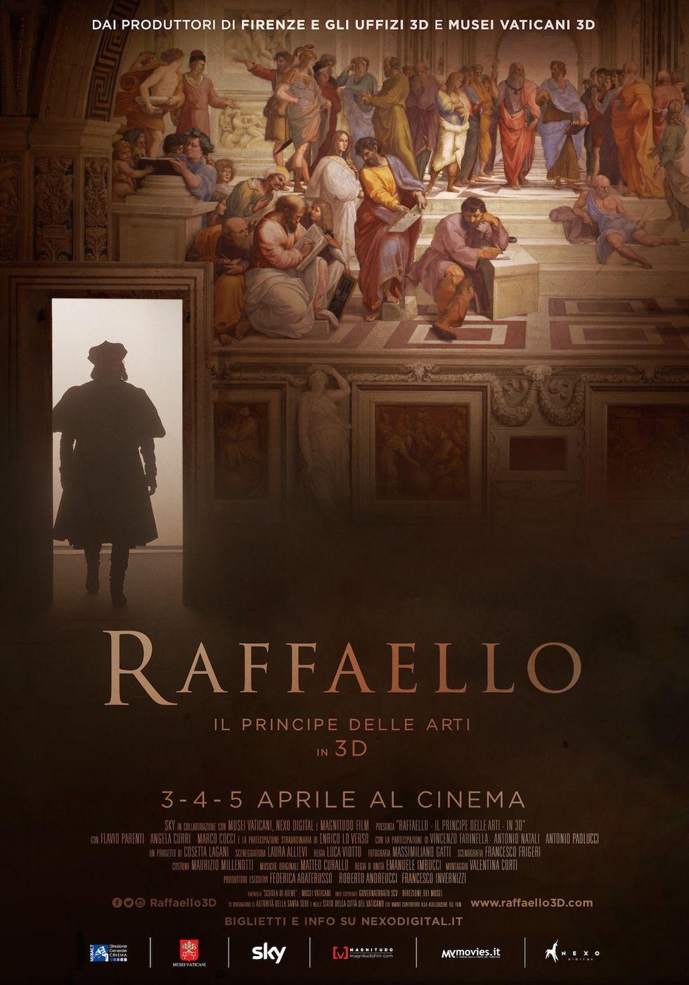 Raffaello - Il principe delle arti in 3D