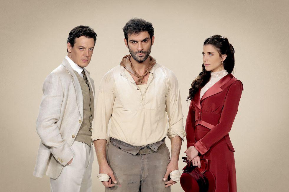 Giorgio Lupano, Francesco Arca, Francesca Valtorta Sacrificio d'amore 2