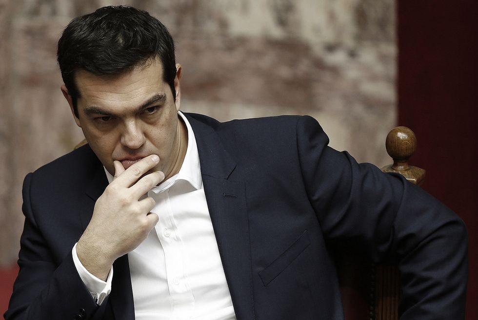 Tsipras contro Ue e Bce e con un occhio alla Russia