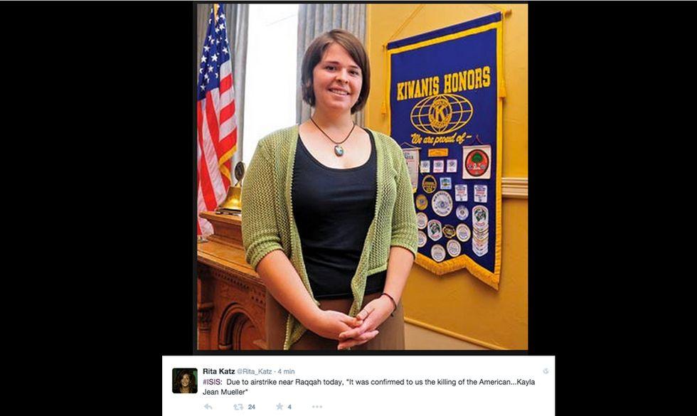 Chi è Kayla Mueller, la volontaria americana uccisa in in Iraq