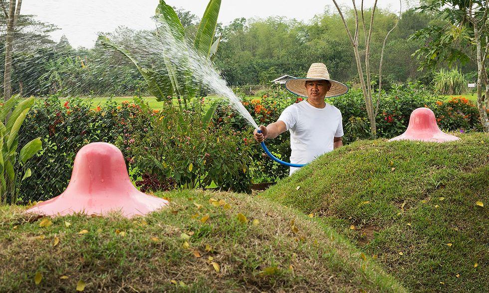 Giardino erotico in Thailandia