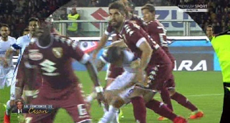 29a giornata, errori arbitrali: Inter, manca un rigore contro il Torino