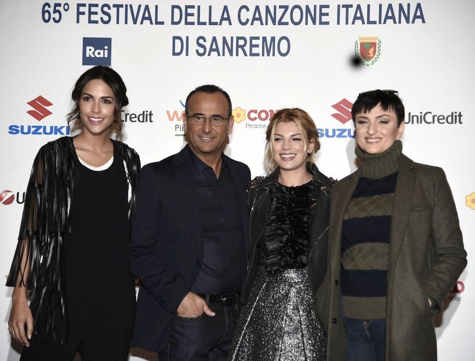 Sanremo 2015: tra gli ospiti Panariello, Bastianich e Charlize Theron
