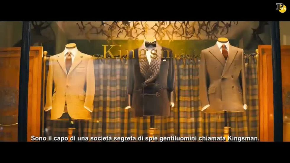 Kingsman: Secret Service, estratti del film e intervista a Michael Caine