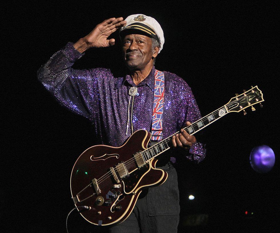 """Chuck Berry: l'inedito """"Big Boys"""" anticipa l'album """"Chuck"""""""