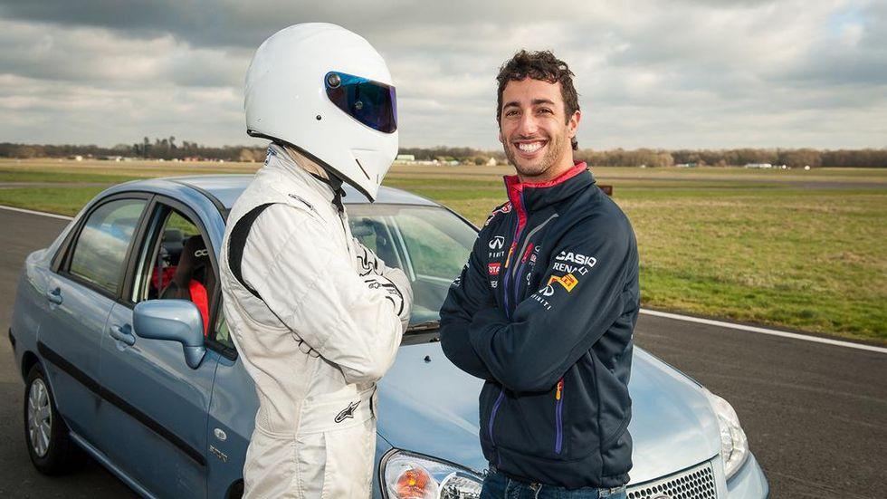 Ricciardo meglio di Hamilton, batte il giro record di Top Gear