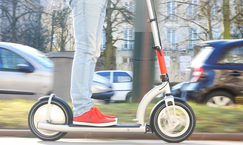 ElectricMood, lo scooter pieghevole superleggero