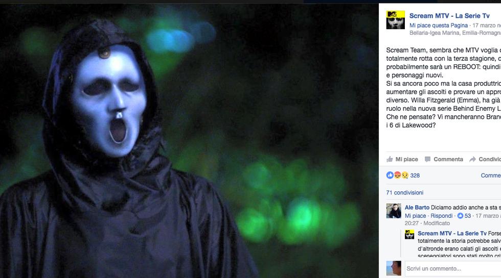Scream la serie, è arrivato il rinnovo per la terza stagione