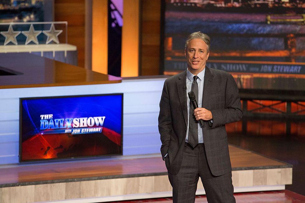Jon Stewart lascia The Daily Show