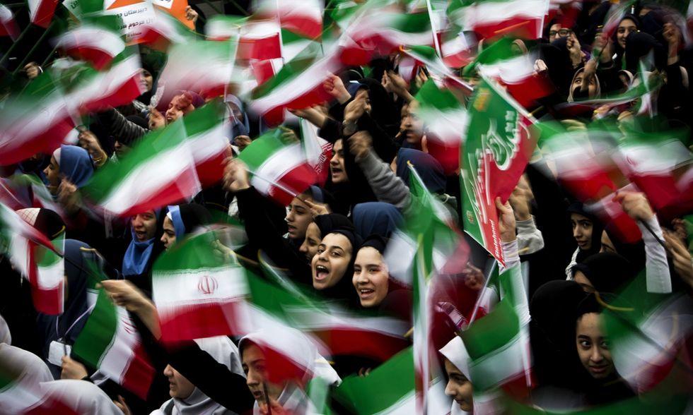 L'anniversario della rivoluzione islamica a Teheran - Foto