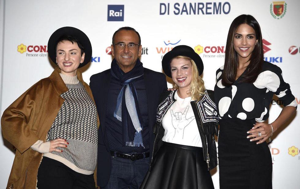 Sanremo 2015: la seconda serata con Charlize Theron, Conchita Wurst e Pintus