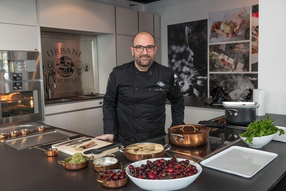 Chef Michele Casadei