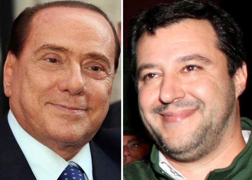 Salvini: le frasi più famose su Berlusconi