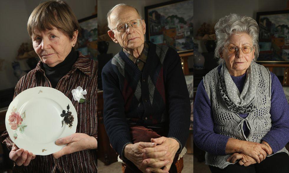Sopravvissuti al bombardamento di Dresda, 70 anni dopo
