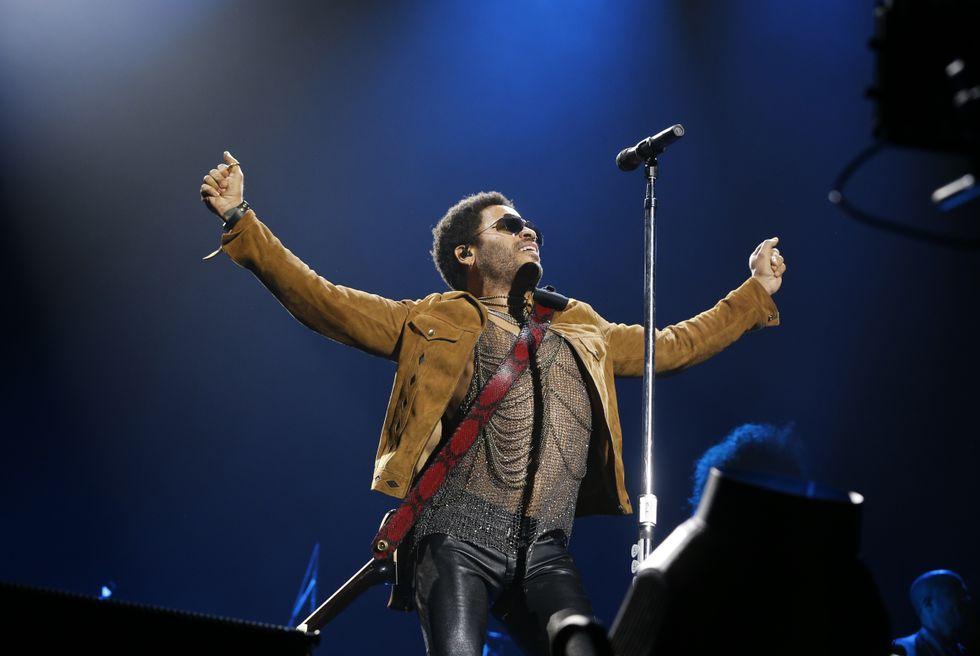 Lenny Kravitz conquista Lucca