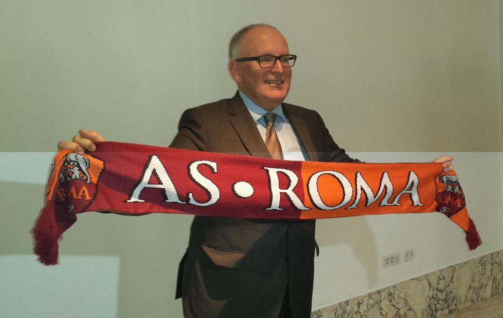 Timmermans e la Roma: tifo senza confini