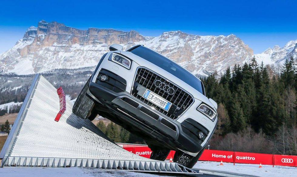 Audi experience: un'esperienza moltiplicata per quattro
