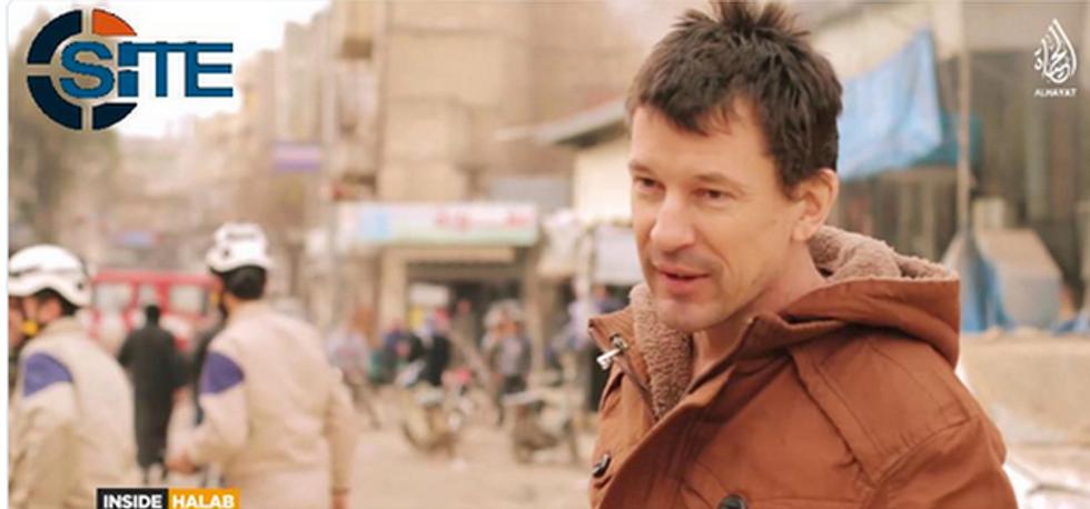 "Isis: John Cantlie scrive alla famiglia, ""Dimenticatevi di me"""