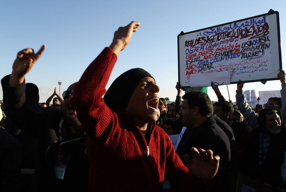 Le responsabilità della crisi in Libia