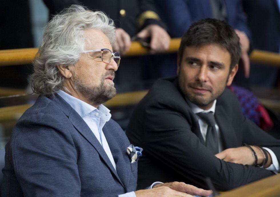 Beppe Grillo-Alessandro di Battista