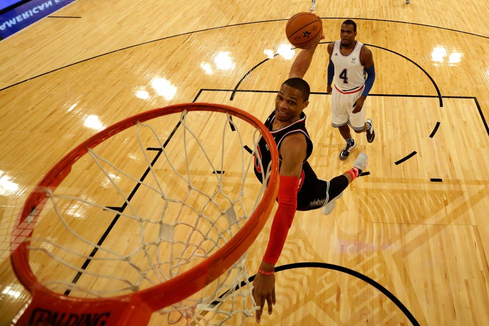 Nba All Star Game 2015: Russell Westbrook e l'Mvp
