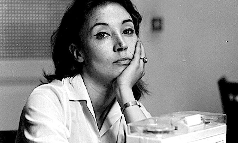 Oriana Fallaci inviata a Hollywood