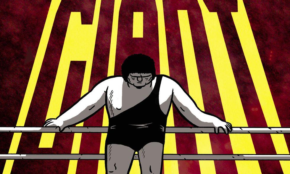 """""""André the Giant"""": il gigante del wrestling a fumetti"""