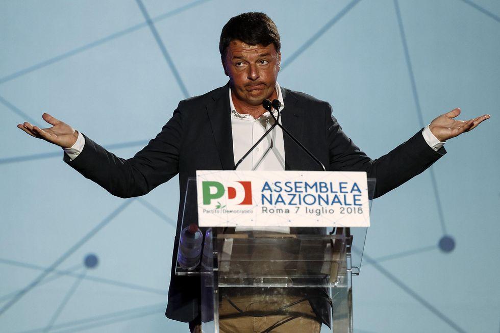 Renzi Pd partito Democratico