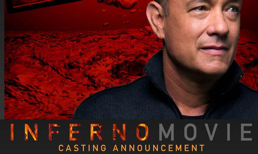 'Inferno' di Dan Brown: il cast del film