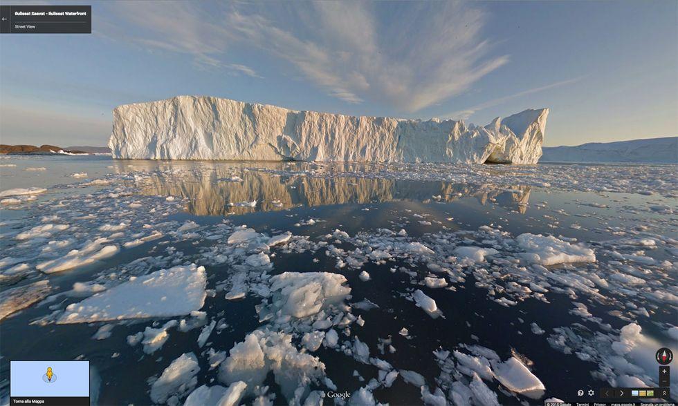 Google Street View in Groenlandia