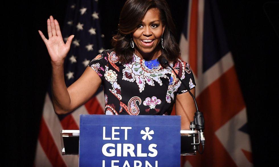 Michelle Obama, la First Lady di Expo