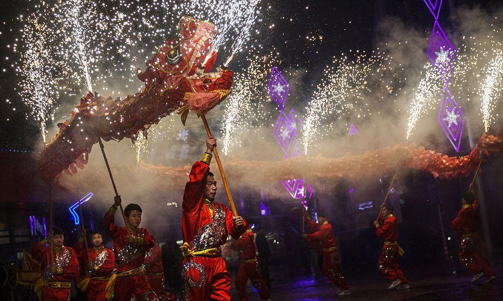 Foto dal Capodanno cinese: è l'anno della capra