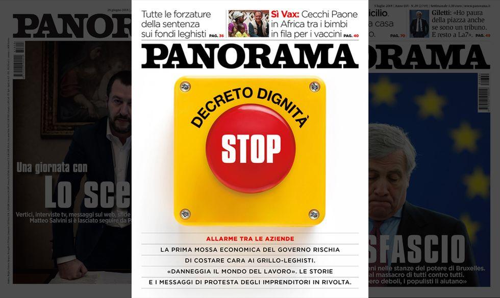 copertina Panorama n. 30, 12 luglio 2018