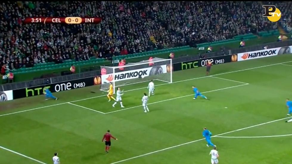 Celtic - Inter 3-3: le immagini