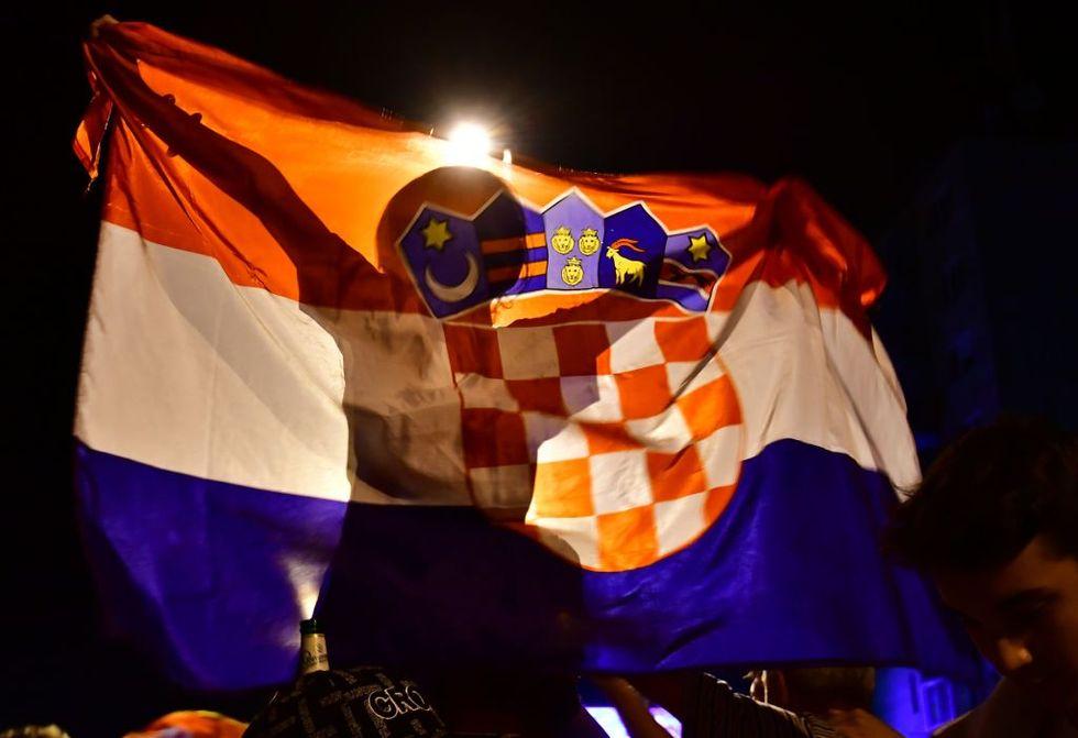 mondiale russia 2018 croazia finale festa tifosi