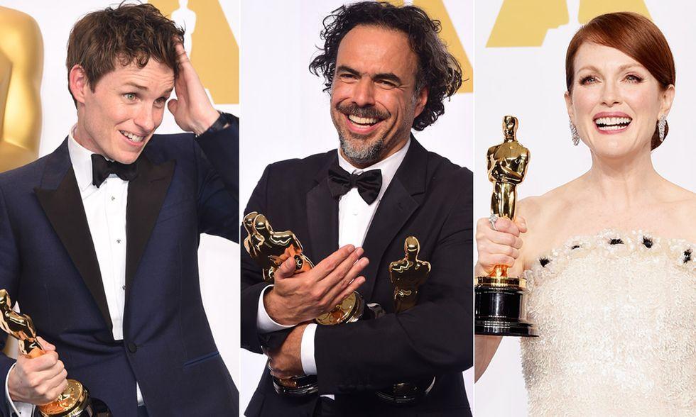 Oscar 2015, trionfa Birdman: tutti i vincitori
