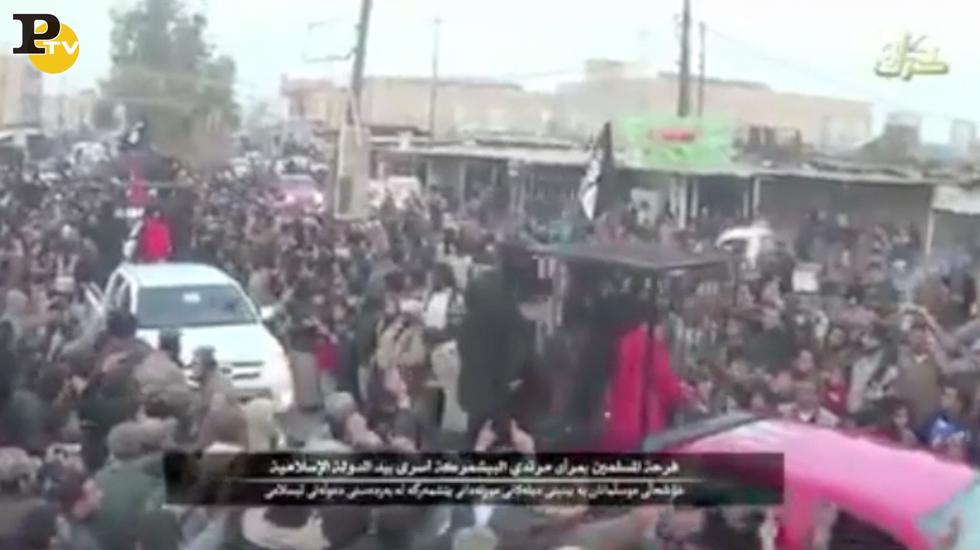 Video Isis: 21 peshmerga in gabbia