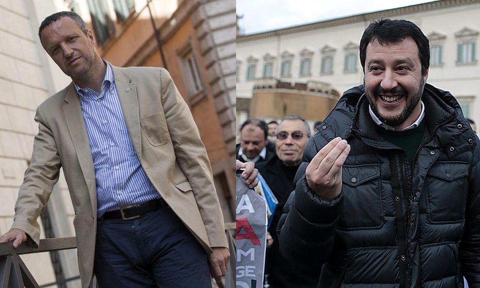 Salvini contro Tosi: è scontro