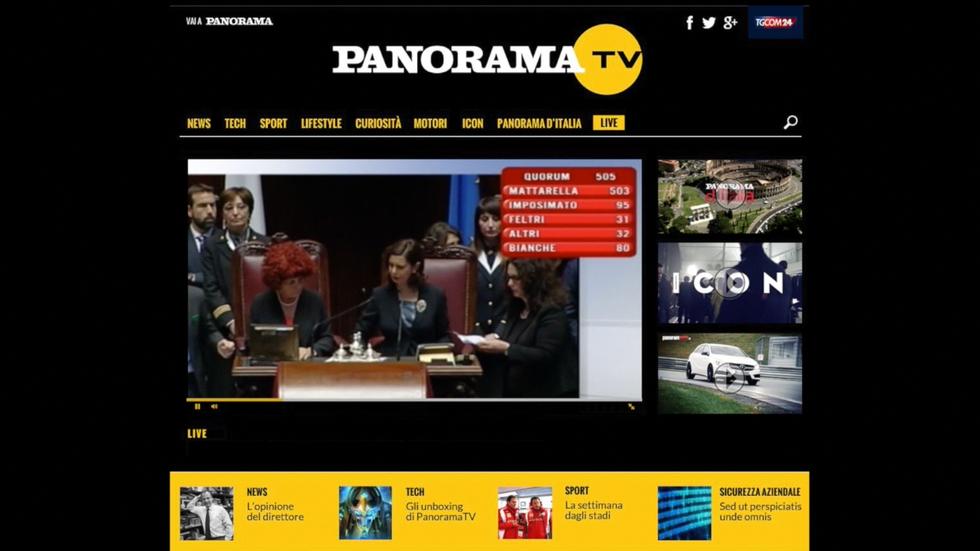 Nasce PanoramaTv