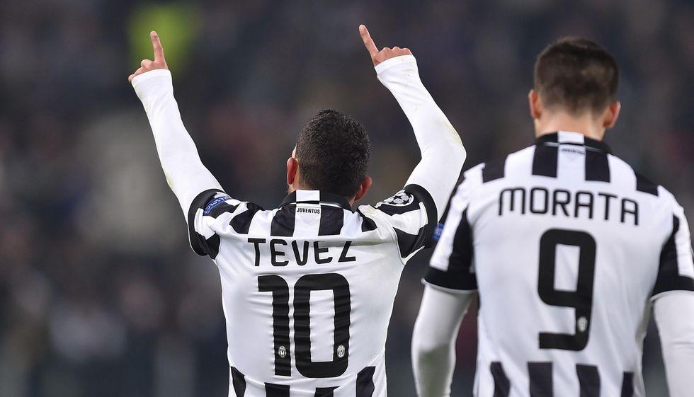 Tevez va via, chi in attacco nella Juventus?
