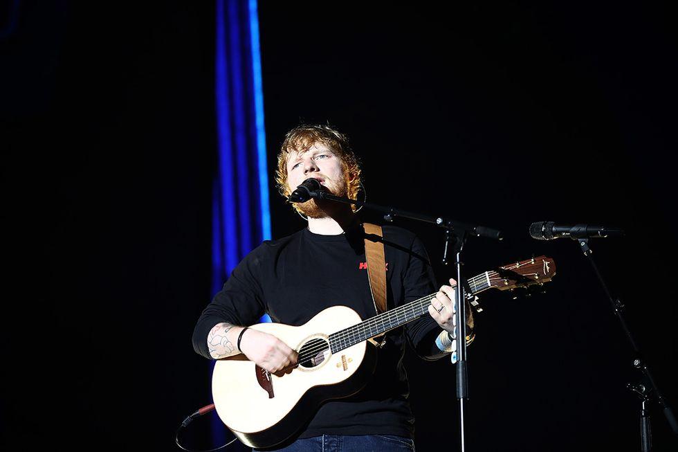 Ed Sheeran - 110 milioni di dollari (93.7 milioni di euro)