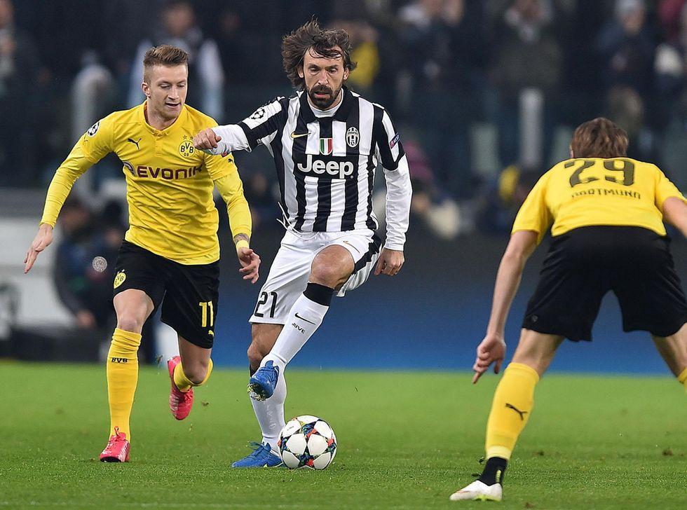 Juventus: Pirlo fermo 20 giorni, Borussia a rischio