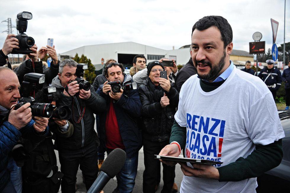La Lega Nord di Matteo Salvini